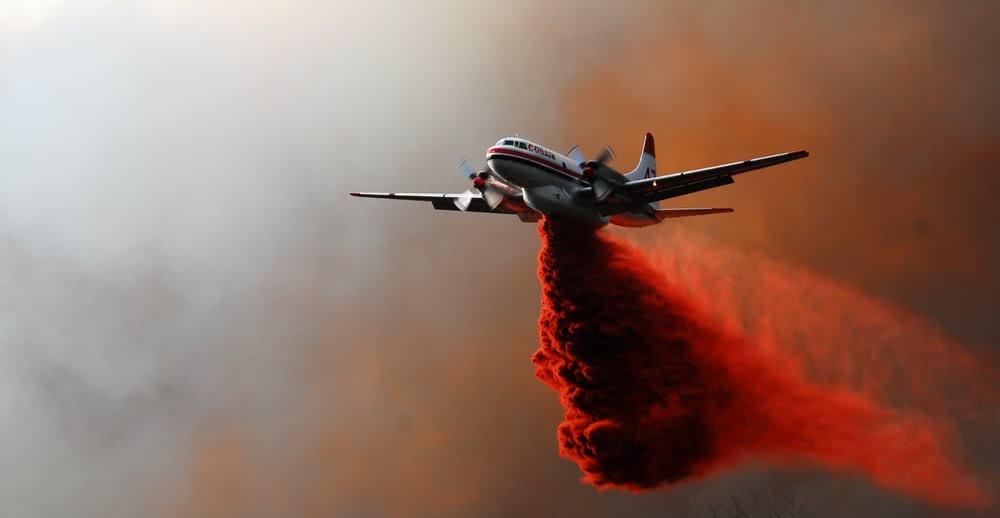 BCWS Wildfire bomber