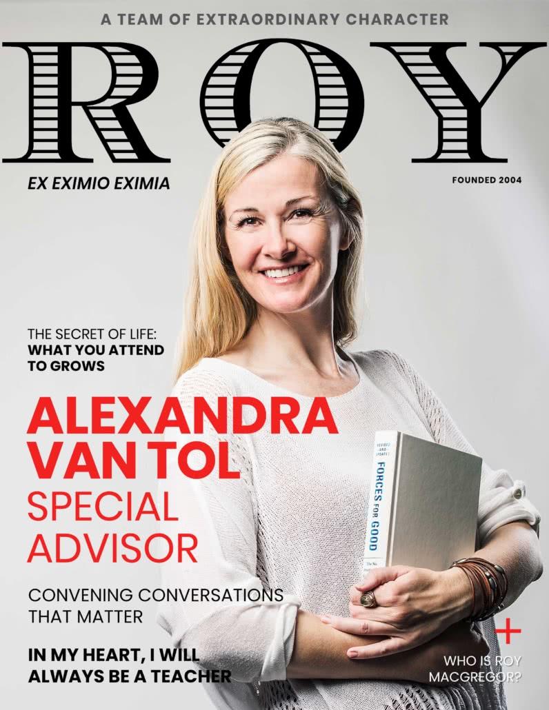 RG Mag Cover Alexandra Van Tol
