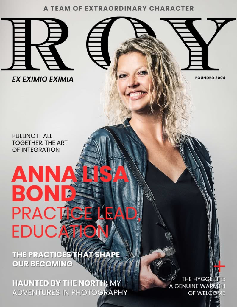 RG Mag Cover Anna Lisa Bond
