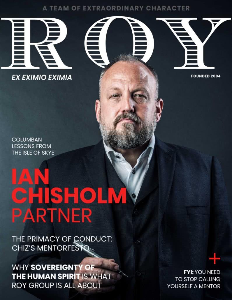 RG Mag Cover Ian Chisholm