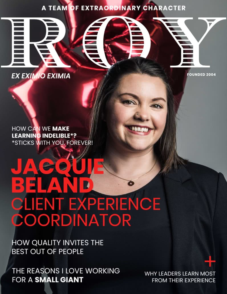 RG Mag Cover Jacquie Beland