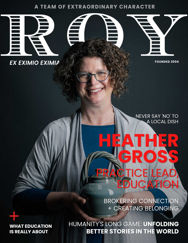 RG Mag Cover Heather Gross
